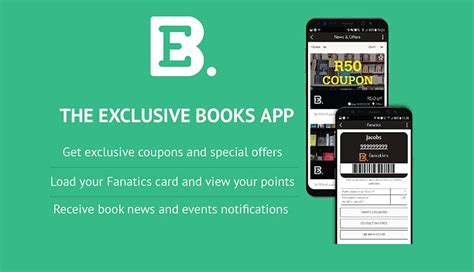 the exclusive books you can t buy books on the new exclusive books app htxt