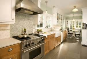 different colored kitchen cabinets two toned look with wood on bottom home remodeling ideas