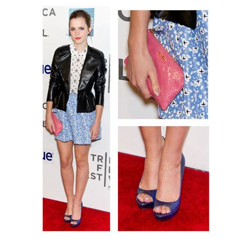 emma watson zara emma watson looks adorable in miu miu look of the day
