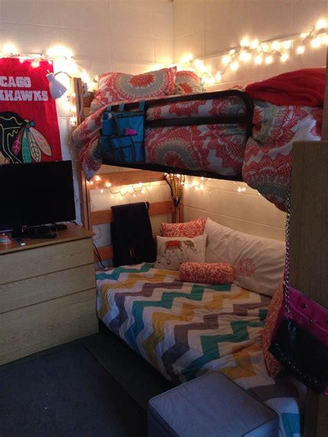 futon room augustana room futon chevron bunk beds college