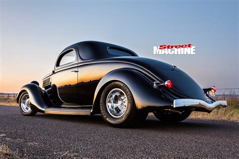 Machines Ford Coupe tubbed and blown 1935 ford 3 window coupe pro 35