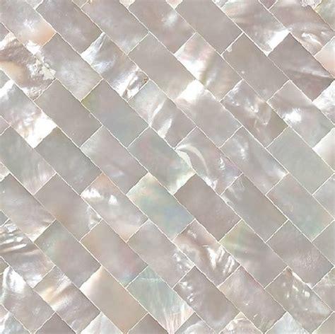mother of pearl shell kitchen backsplash tiles mop033