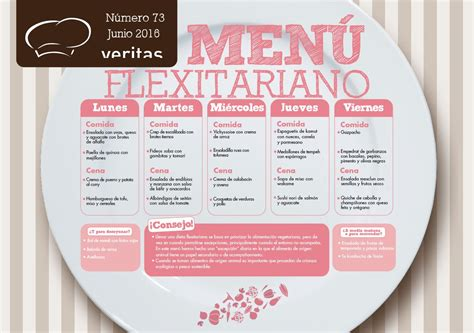 menu de la quincena flexitariano veritas