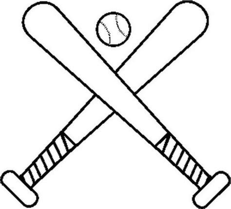 softball bat coloring pages