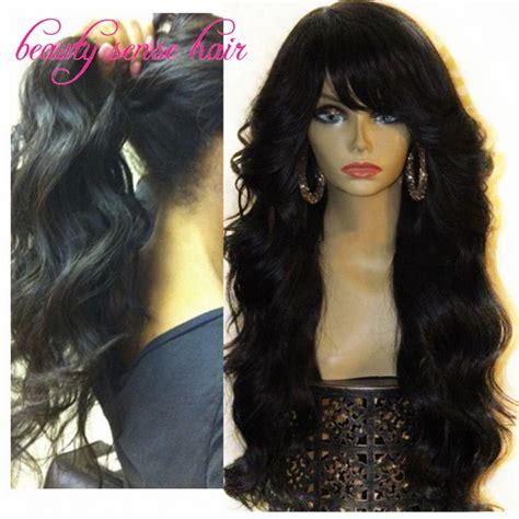 aliexpress human hair unprocessed 8a grade 150 density brazilian full lace wigs