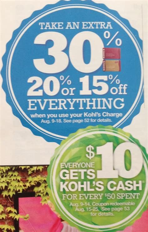 Can I Use Kohl S Cash On Gift Cards - kohl s charge card holders get 30 off everything plus kohl s cash frequent miler