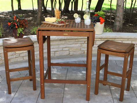 Folding Bar Table Outdoor Outdoor Interiors 2 4 6 Folding Pub Table Patio Table