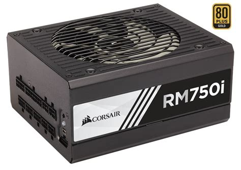 Power Supply Corsair Rm750i Rmi750 Modular Gold corsair rm750i 750w atx 80 gold modular kodin elektroniikka cdon