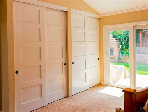 Wood Closet Doors Sliding Wood Storage Cabinets With Sliding Doors Home Design Ideas