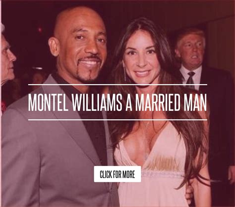 Montel Williams A Married by Montel Williams A Married