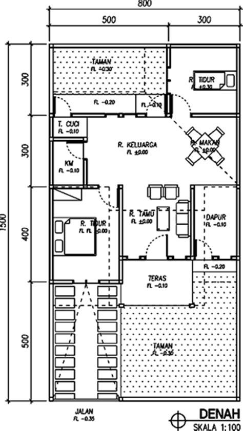 rumah desain rumah type 60 120