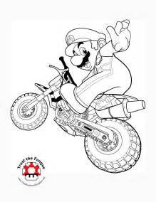 mario kart coloring pages tmk archive 2008