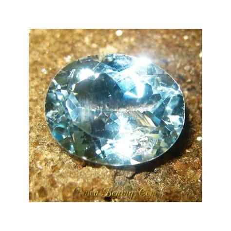 Batu Permata Topaz Sky promo batu permata topaz light sky blue oval cut 3