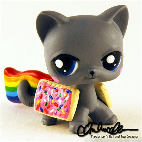 lps dogs and cats nyan cat custom lps by thatg33kgirl on deviantart