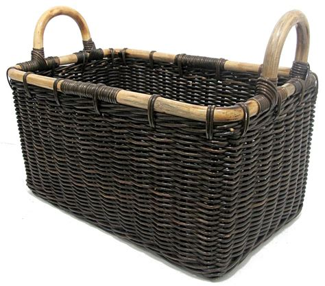 Keranjang Basket rattan laundry baskets rattan wicker hers