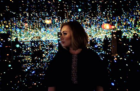 Infinity Mirrored Room by Adele Inside Yayoi Kusama S Infinity Mirrored Room