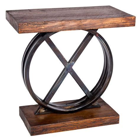 iron and wood side table xo iron side table with reclaimed wood top base