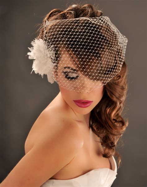Wedding Hairstyles For Hair With Birdcage Veil by Wedding The World Wedding Hairstyles To The Side