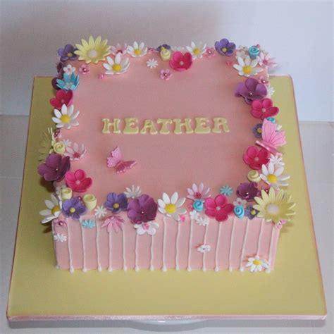 Design Flower Cake | coco jo cake design flower garden cake