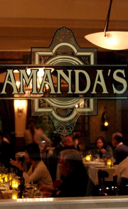 Dining Rooms Amanda S Restaurant Hoboken S Finest Dining
