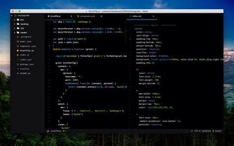 install themes en atom framerjs syntax