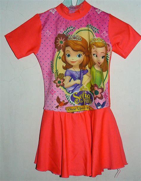 L9862 Baju Renang Anak Frozen Rok Ukuran Sd Kode Pl9862 1 jual baju renang anak frozen model celana rok ukuran sd