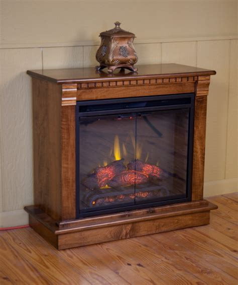 Amish Electric Fireplace Electric Fireplace Amish Valley Products