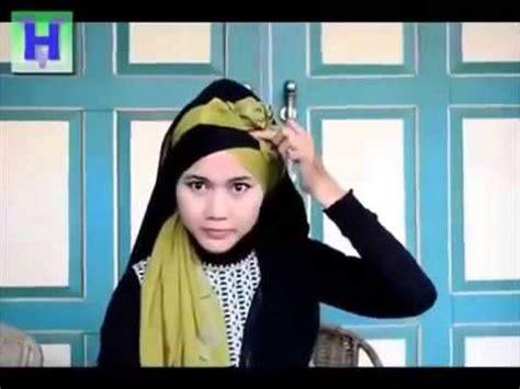 tutorial hijab pengantin akad tutorial jilbab untuk acara akad nikah dan pengantin youtube