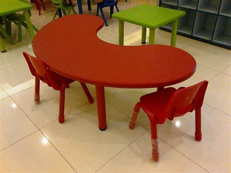 Mainan Anak Meja Kursi meja plastic bentuk u mainan kayu
