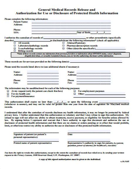 doc 600730 doc585640 general release form template