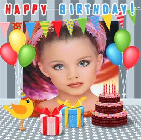 fotomontajes de feliz cumplea os fotomontajes infantiles marcos fotomontajes de feliz cumplea 241 os con globos fotomontajes