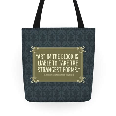 Name Holmess Purse by Sherlock Book Quote Totes Human