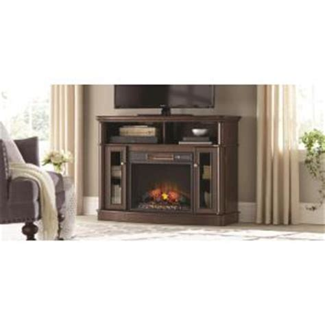 Fireplace Fronts Home Depot by Home Decorators Collection Tolleson 48 In Media Console