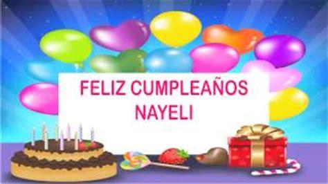 imagenes que digan feliz cumpleaños nayeli cumplea 241 os nayeli