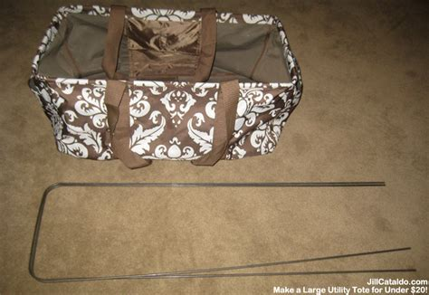 rectangular tote bag pattern how to make a large utility tote for less than 20 jill