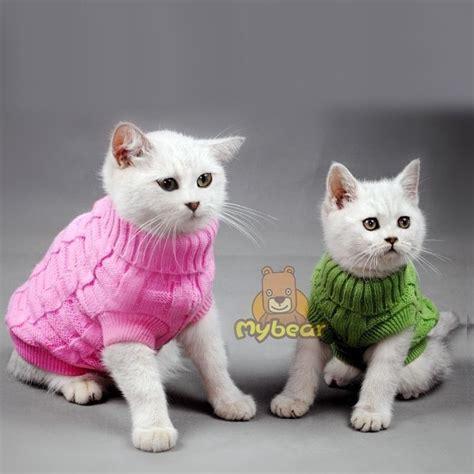 cat clothes new spagetti color warm cat sweater pet jumper cat clothes