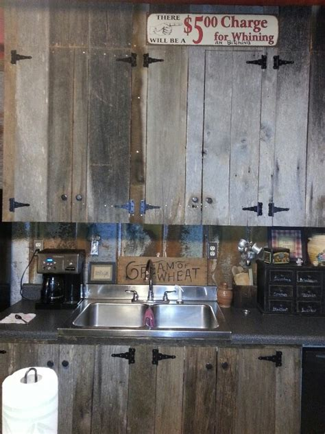 barn wood kitchen cabinets best 25 barn wood cabinets ideas on pinterest rustic