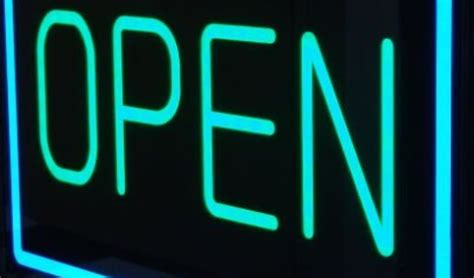 Lighted Open Sign by Open Led Sign Allen Signs