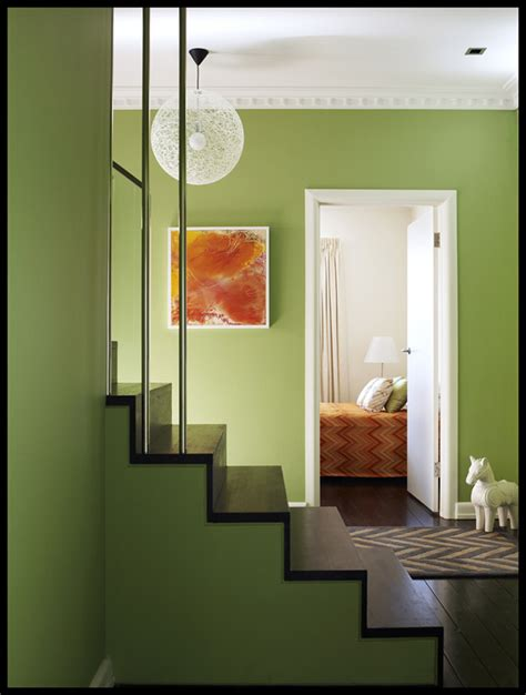 green interior design   home