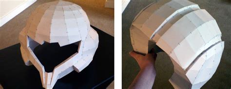 How To Make A Helmet Out Of Paper - cosplayer uses 3d printing to create realistic varia suit