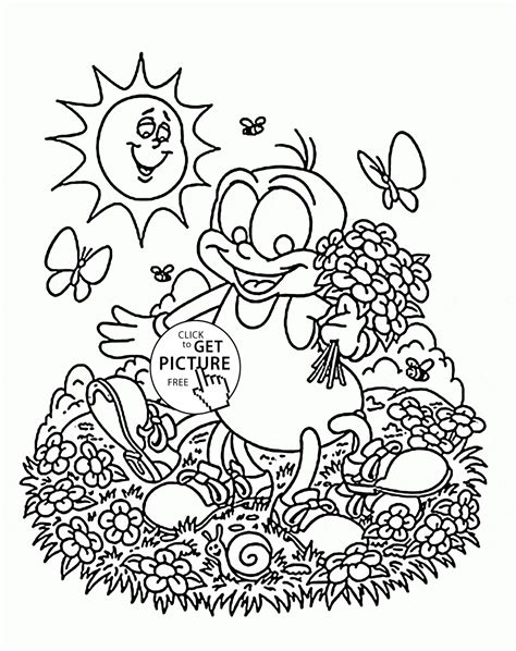 Garden Spider Coloring Page Spider And Coloring Page For