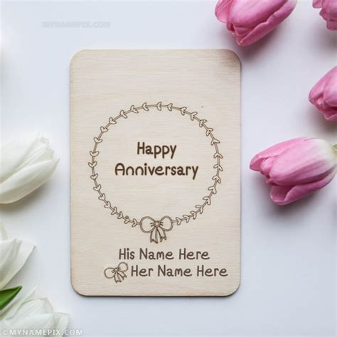 Wedding Anniversary Wishes With Name And Photo by Wedding Anniversary Name Pictures Search Results
