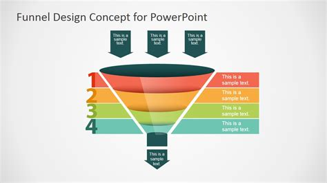powerpoint template funnel free funnel slide designs for powerpoint slidemodel