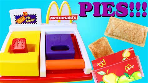 mcdonalds happy meal magic dessert pie maker diy
