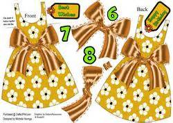 Clothes My Back 112907 by Black Polkadot Dress Shaped Card Bow Cup612504
