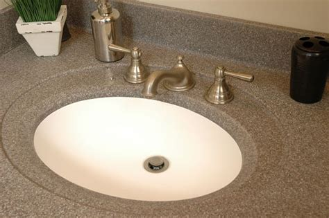 solid surface bathroom sinks and countertops 7 bathroom sink styles that offer a variety of design options