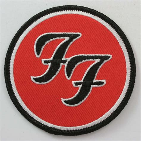 Foo Fighters Logo foo fighters ff logo embroidered patch