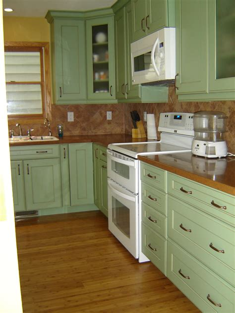 Light Green Kitchens Light Green Kitchen Cabinet Gives Impression Bright For Your Kitchen Furniture Eddyinthecoffee