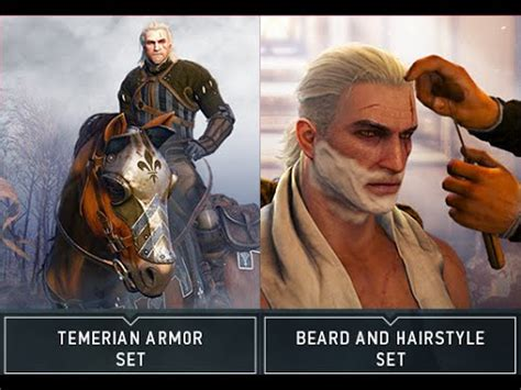 beard and hairstyles dlc witcher 3 dlc week 1 tamerian armor level 29 tamerian