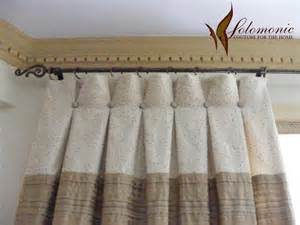 Curtains With Buttons Drapes Inverted Pleats With Button